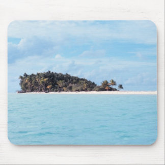 Deserted Island Mouse Pad