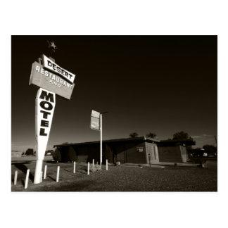 Deserted Motel Postcards