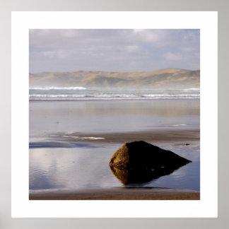 Deserted Shore Print