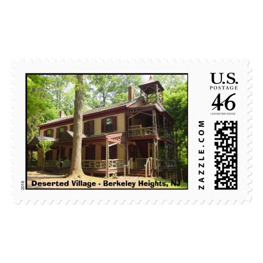 Deserted Village - Berkeley Heights, NJ Postage Stamps