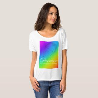 Desertrose Rainbow Slouchy T-Shirt