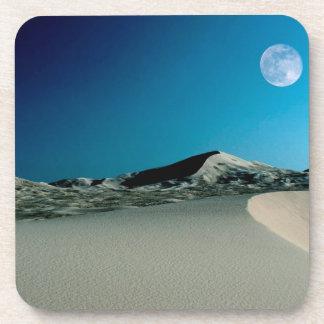 Deserts Bad Moon Rising Beverage Coaster