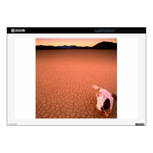 "Deserts Bone Dry Death Valley 17"" Laptop Decal"