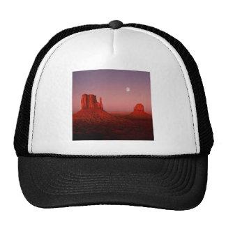 Deserts Moonrise Monument Valley Utah Trucker Hat