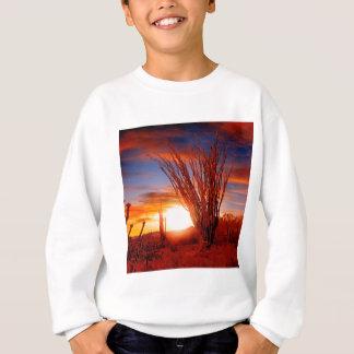 Deserts Ocotillo Sonora Arizona Sweatshirt