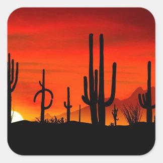 Deserts Saguaros Sonoran Arizona Stickers