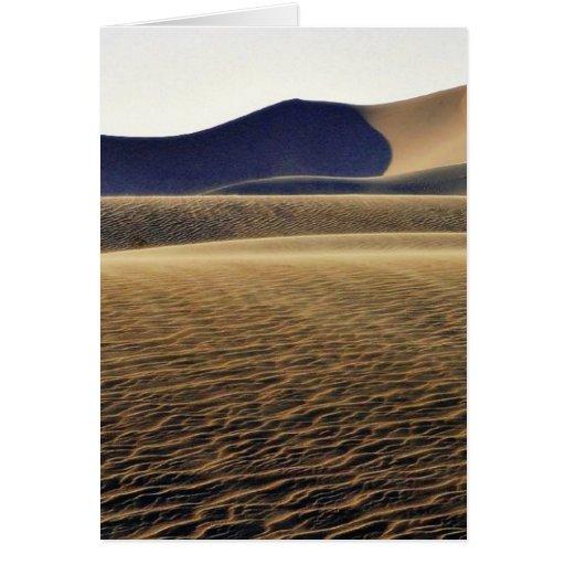 Deserts Sand Dunes Greeting Card