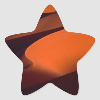 Deserts Shadows The Sand Morocco Star Sticker