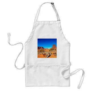 Deserts West Mitten Monument Valley Arizona Apron