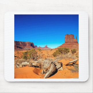 Deserts West Mitten Monument Valley Arizona Mouse Pad