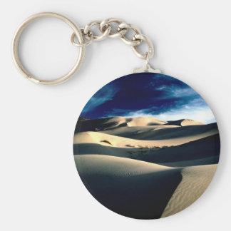 Deserts Windswept Dunes Key Chain