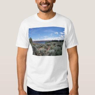 Desertscape con el río remeras