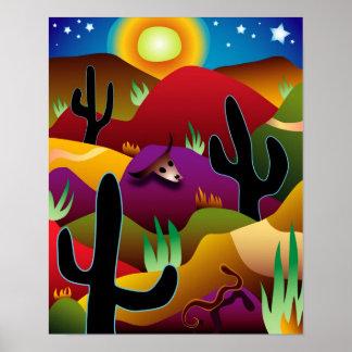 Desertscape Poster