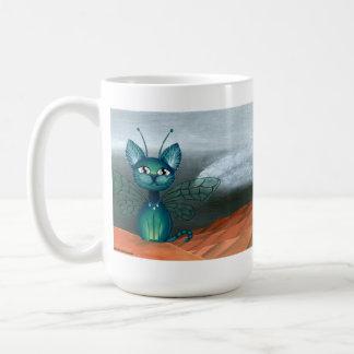 Desertstorm, Fantasy Fairy Kitty Coffee Mug