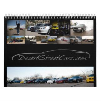 DesertStreetCars.com Calendario De Pared