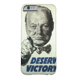 Deserve victory_Propaganda Poster Barely There iPhone 6 Case