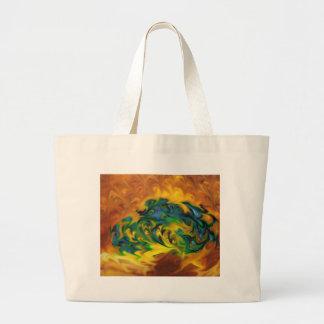 desesperación geométrica del expresionista bolsa
