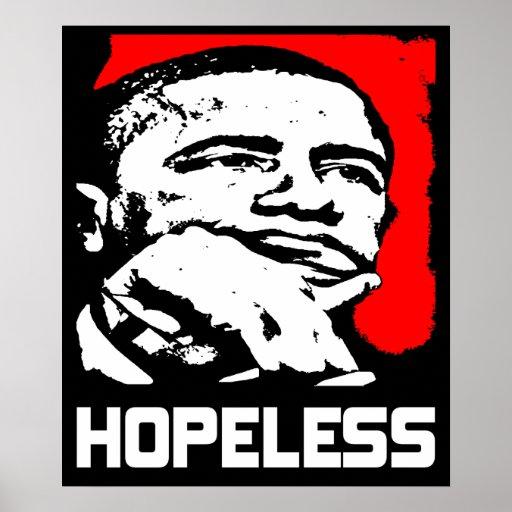 Desesperado: ¡Barack Obama! Póster