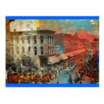 Desfile 1886 del circo de Kansas City Postal