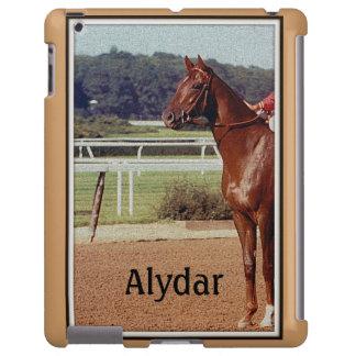 Desfile 1978 del poste de Alydar Belmont Stakes Funda Para iPad