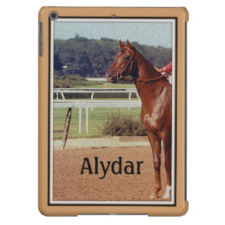 Desfile 1978 del poste de Alydar Belmont Stakes Funda Para iPad Air