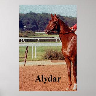 Desfile 1978 del poste de Alydar Belmont Stakes Póster