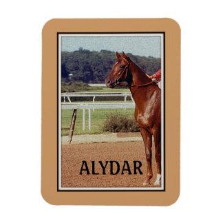 Desfile 1978 del poste de Alydar Belmont Stakes Rectangle Magnet