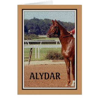 Desfile 1978 del poste de Alydar Belmont Stakes Tarjeta De Felicitación
