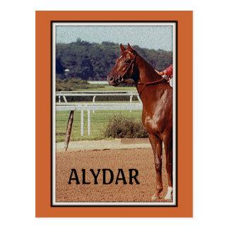 Desfile 1978 del poste de Alydar Belmont Stakes Tarjeta Postal