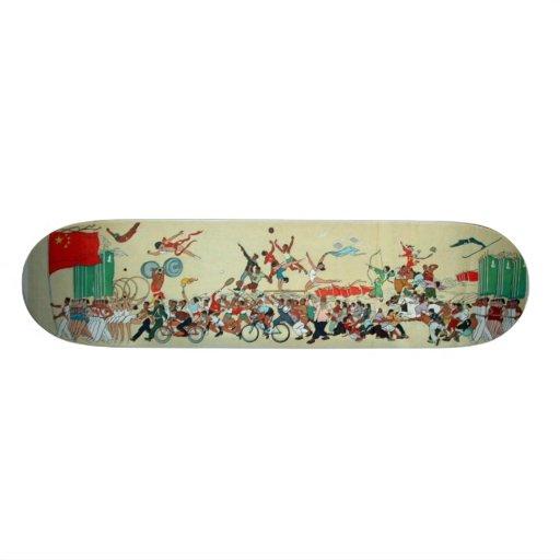 "Desfile chino patineta 7 7/8"""