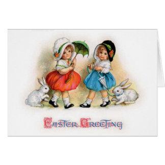 Desfile Cuties de Pascua Tarjeta De Felicitación
