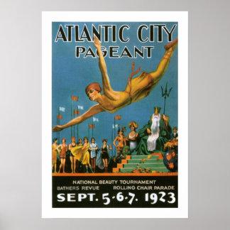 Desfile de Atlantic City (frontera) Poster