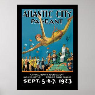 Desfile de Atlantic City Posters