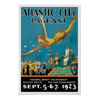 Desfile de Atlantic City Poster