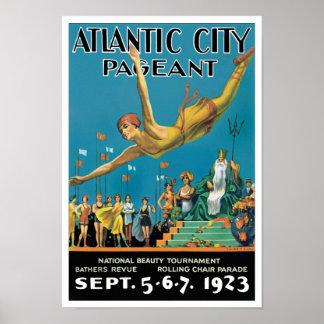 Desfile de Atlantic City Póster