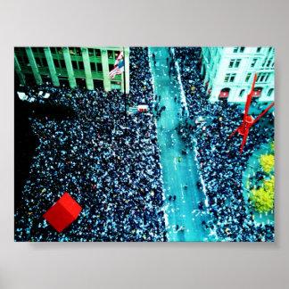 desfile de la cinta de teletipo posters