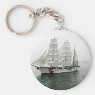 Desfile de la navegación de USCG Llavero Redondo Tipo Pin