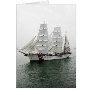 Desfile de la navegación de USCG Tarjeta De Felicitación
