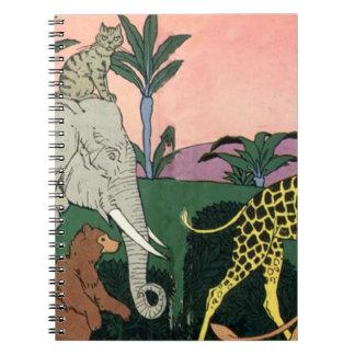 Desfile de la selva cuadernos
