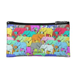 Desfile de los elefantes - pequeño bolso cosmético