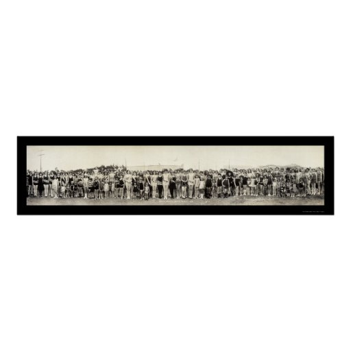 Desfile de Venecia, foto 1926 de CA Póster
