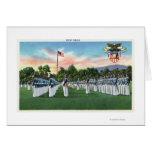 Desfile de vestido de la academia militar # 2 tarjeta