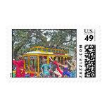 Desfile del carnaval de New Orleans Sello Postal