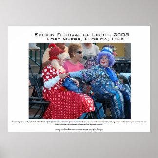 Desfile del festival de Thomas Alva Edison Póster