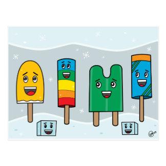 Desfile del Popsicle - postal
