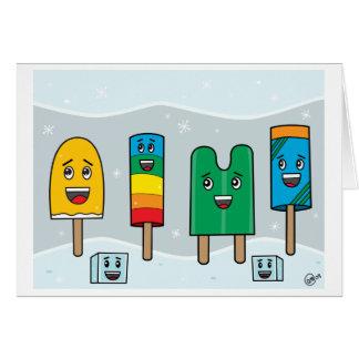 Desfile del Popsicle - tarjeta de felicitación