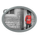 Desfile del soldado de Londres Hebillas Cinturon Ovales
