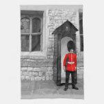 Desfile del soldado de Londres Toalla De Mano