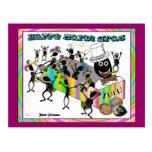 Desfile del Zulú en el carnaval Postal