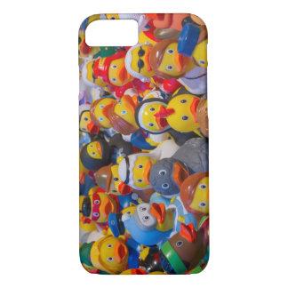 Desfile Ducky de goma colorido Funda iPhone 7